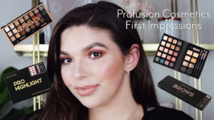 Profusion Cosmetics First Impressions